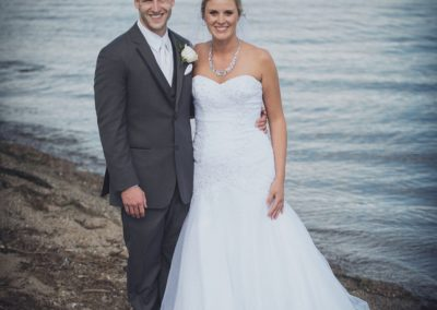 Lake Pepin Bride and Groom