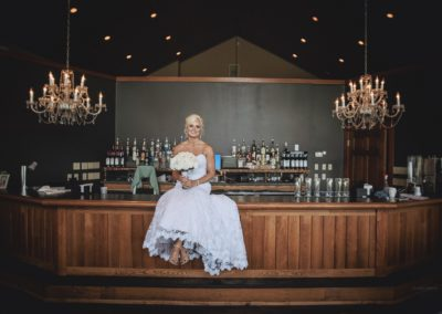 Bride on a Bar