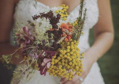 Wild Flower Wedding Bouquet