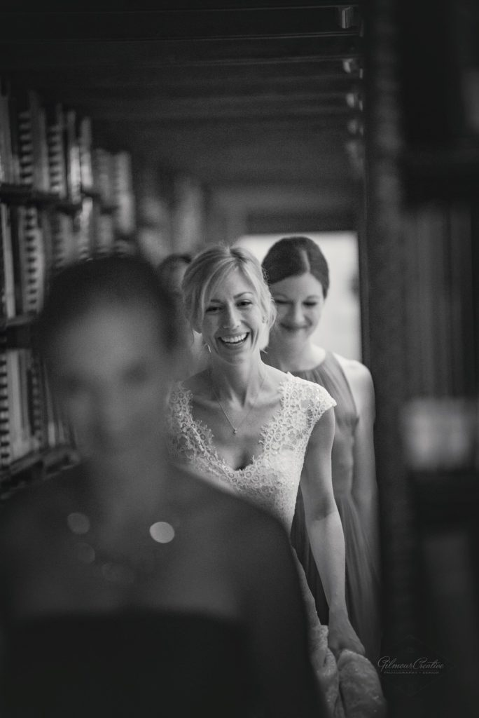 James J. Hill Library Wedding Bride