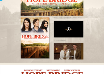 Hope Bridge Movie Web Site