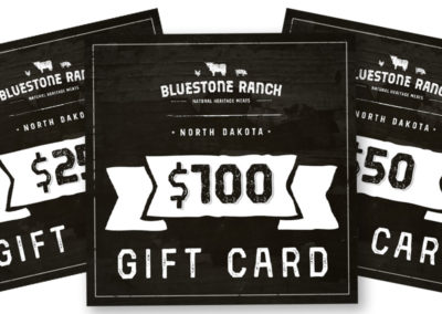 Bluestone Ranch Digital Gift Cards
