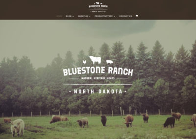 bluestone ranch website