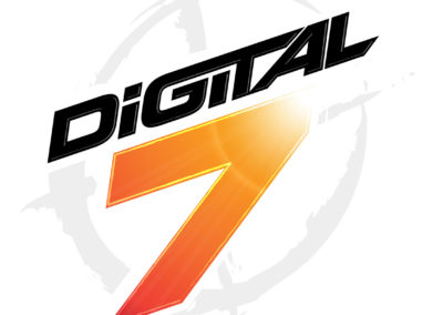 Digital 7 logo design