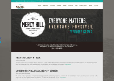 mercy hill church website