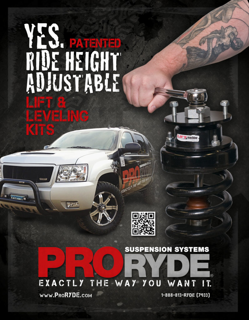 ProRYDE Full Page Ad