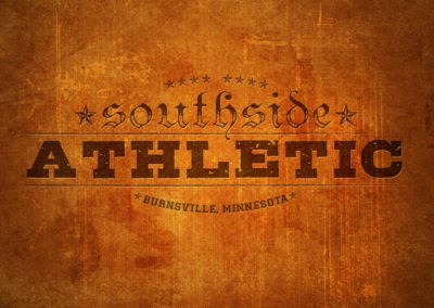 Southside Athletic Gym logo design