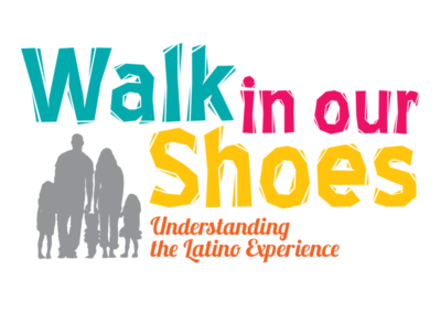 Walk in Our Shoes logo design