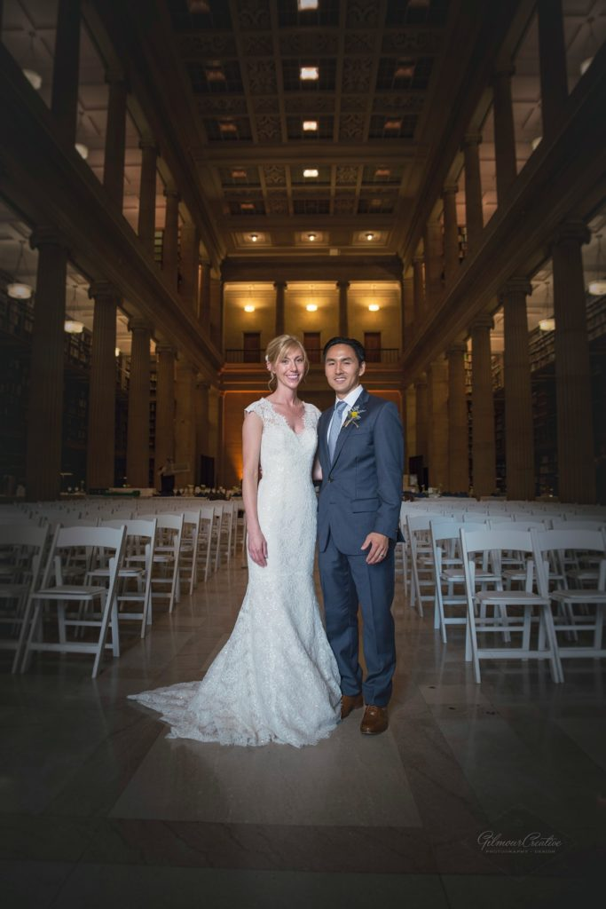 James J. Hill Library Wedding