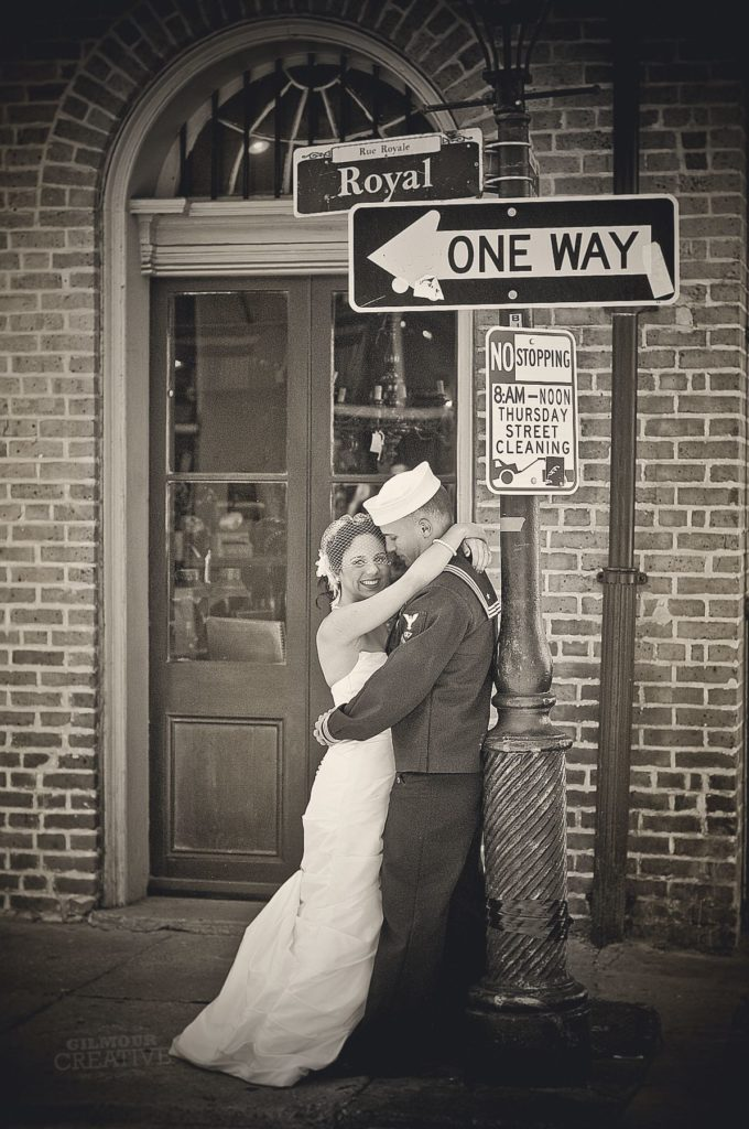 Navy Wedding in New Orleans